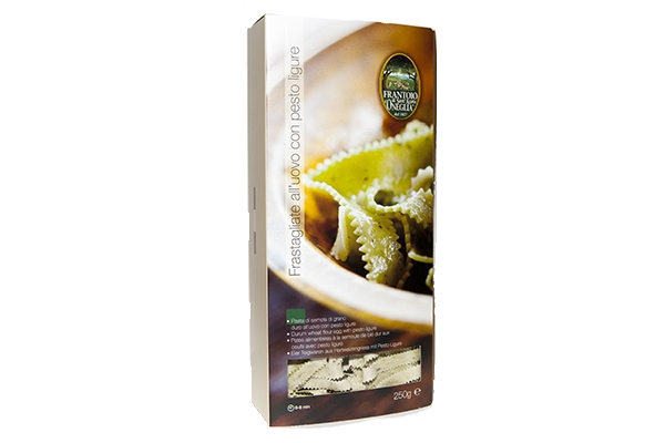 FRASTAGLIATE ALL'UOVO CON PESTO FRESCO