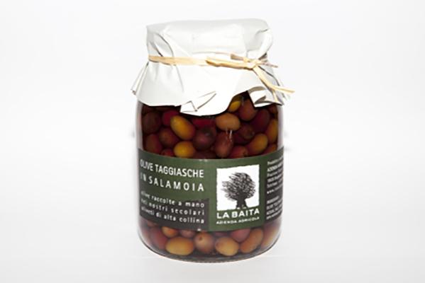 olive taggiasche salamoia