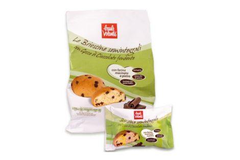 BRIOSCINE SEMINTEGRALI con gocce di cioccolato fondente - Baule Volante